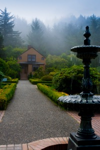 DSC_0132_Landscape Photography, Garden Fountain, Coos Bay, Oregon